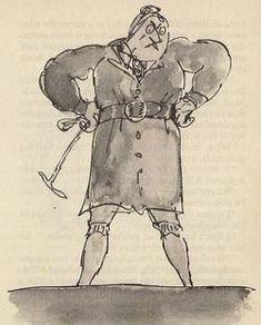 Roald Dahl's Best Villains: Miss Agatha Trunchbull from Matilda