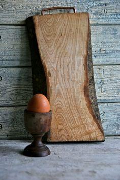 Wooden Cutting board Chopping board Bread by Lattepolon on Etsy