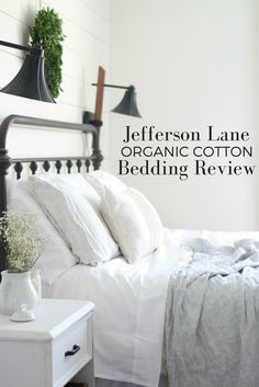 Organic cotton bedding review and coupon.  Avoid formaldehyde and other contaminants found in conventional bedding.