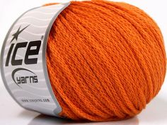 Limited Edition Fall-Winter Yarns Kışlık Yün Worsted Zincir Turuncu  İçerik 50% Akrilik 50% Yün Orange Brand Ice Yarns fnt2-51478