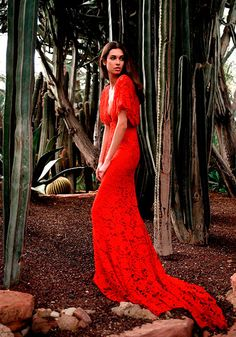 Etxart and Panno red maxi dress
