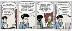 PHD Comics: Academically anything is possible