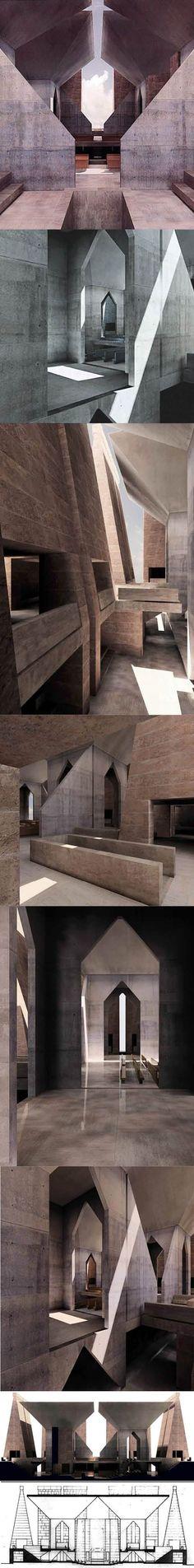 1967-1974 Louis Kahn - Hurva Synagogue | Jerusalem, Israel #moderne #architektur #modern #architecture