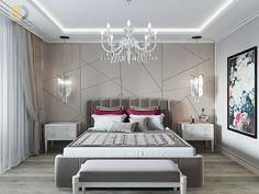 Дизайн интерьера спальни в двухкомнатной квартире 81 кв.м в стиле неоклассика с элементами ар-деко15 Home Kitchens, Sweet Home, Projects, Log Projects, Blue Prints, House Beautiful, Kitchen