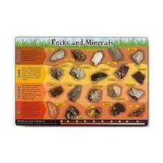 Rocks and Minerals Placemat