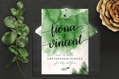 GREENERY Wedding_Invitation
