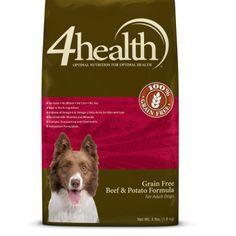 4health Puppy Food >> 4health™ Grain Free Turkey & Potato Dog Food, 4 lb ...