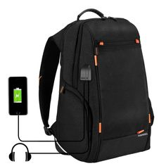 0fc1e6cbdb   13.08 HAWEEL Outdoor Multi-function Comfortable Breathable Casual Backpack  Laptop Bag with Handle