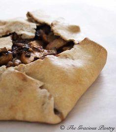 Clean Eating Rustic Apple & Fig Tart (Pie Crust Recipe has been pinned here) Tart Recipes, Dessert Recipes, Clean Eating Recipes, Cooking Recipes, Healthy Eating, Eating Clean, Fig Tart, Clean Eating Desserts, Healthy Treats