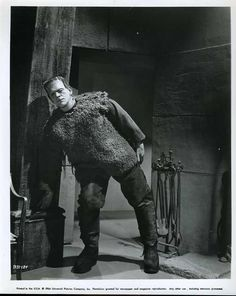 Karloff-the SON OF FRANKENSTEIN (1939) Or me monday mornings at work...