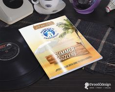 Parkview Promotions Summer Brochure (cover) - three60design Banbridge Northern Ireland - Print - Graphic Design