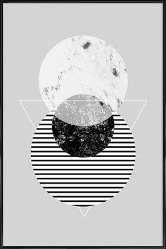 Minimalism 9 als Poster im Kunststoffrahmen | JUNIQE