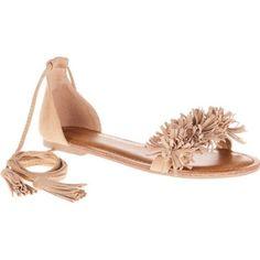 Big Budha Women's Fringe Toe Sandal Casual Dress Shoe, Size: 10, Gray