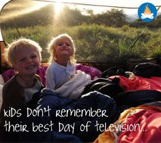 Kids and camping...  Make memories! #camping #outdoors