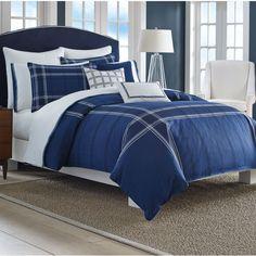 Nautica® Haverdale Comforter Set In Navy
