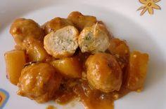MAYTE EN LA COCINA: 309° receta: ALBONDIGAS DE MERLUZA EN SALSA DE TOMATE