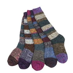Color Block Warm Wool Blend Knited Hold-up Boot Crew Socks Winter Leg Warmer (model 3). 1.Material:75% cotton,comfortable and breathable,warm,lightweight and hight elastic,best socks for winter. 2.Packing Contents:5 pairs mix color socks. 3.Size:Regular fits shoe size 6.5-9.0(US);38-40(EU);4-8(UK),please check the size if suit you before you place the order. 4.Craft:comfort and soft,high elastic materials,colorful,make the socks fashion and cute,tight rib top not easy to slip down when...