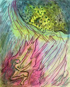 79 渇望 Lust.  SoulTouch Coloring Journals created by Deborah Koff-Chapin.  Colored by 田中 洋一郎 ( Yo+ichirou Tanaka )  #タッチドローイング #TouchDrawing #SoulTouch塗り絵 #SoulTouchColoringJournals #ソウルタッチ塗り絵 #コロリアージュ #大人の塗り絵 #coloriage #仙台 #sendai #coloring #creativelycoloring #coloringforadults #coloringbook #coloringbookforadults #coloringforadult #おとなの塗り絵 #おとなのぬり絵 #おとなのぬりえ #adultcoloringbook #プリズマカラー #カリスマカラー #prismacolor #karismacolor #透明クレヨン #MetallicMarker #clearcrayon