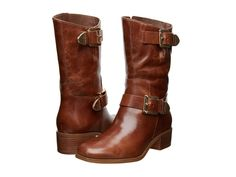 MICHAEL Michael Kors Robin Boot (Walnut Distressed Vachetta) Women's Boots