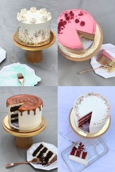 Take a look at these delicious and charming cakes from Pretty Please!