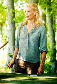The Walking Dead- Laurie Holden as Andrea in season 2