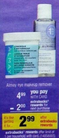 Almay Eye Makeup Remover Pads Just $1.99 at CVS Starting (11/24)
