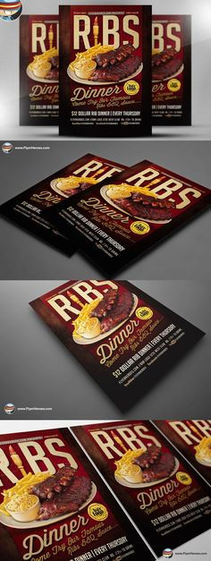 Narrow Way Flyer Poster Template | Flyers, Flyer Template And Template