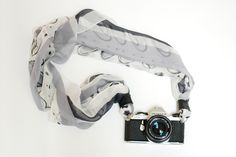 how to make a scarf into a camera strap
