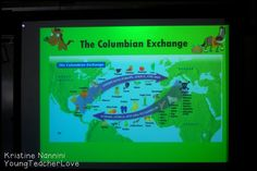 Social Studies Freebies and Ideas- The Columbian Exchange - Young Teacher Love by Kristine Nannini