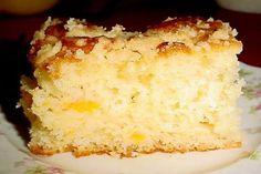 Easy Peach Cake – Recipes Cup