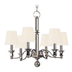 Hudson Valley Chandelier,  Chandelier, 6 Light Chandelier...simple & elegant. Perfect!