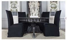 Black Antique for French dining