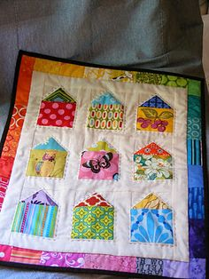 A simple mini quilt idea!