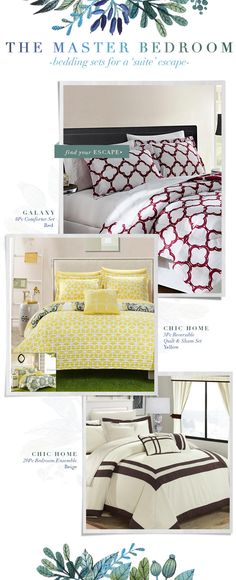 Email Design -- ChicMarket #emaildesign, #e-mailDesign, #ForTheHome, #Bedding, #GraphicDesign, #WebDesign, #Fashion, #Comforters, #Bedroom