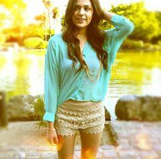 Bethany Mota boho outfit