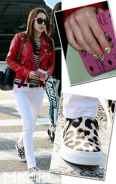 Dara in CELINE Leopard-Print Calf Hair Slip-On Sneakers $ 720