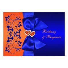 light blue and burnt orange wedding ideas - Google Search | Wedding ...