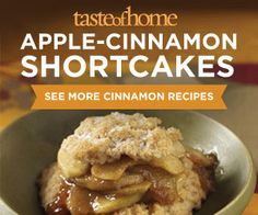 Our favorite Cinnamon Recipes from tasteofhome.com