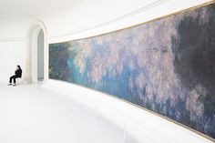 """hadaes: likeafieldmouse: The Monet Room when i was there i was gob-smacked; the monet room is made up of multiple """"sub-rooms"""" with different paintings that make up one specific sighting - it has a very serene atmosphere and the paintings are gigantic!"""
