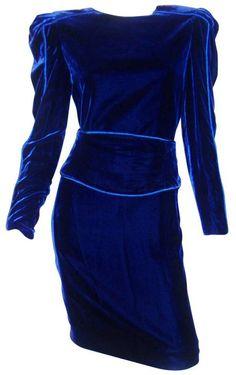Dress: Carolina Herrera, 1980s