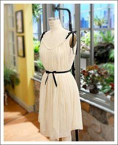 Сшить платье для девочки из одного куска материала
