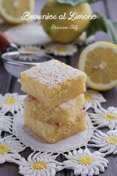 Brownies al Limone