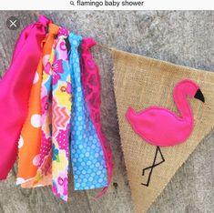 Flamingo birthday flamingo baby shower by ThatCraftyAuntieEm Pink Flamingo Party, Flamingo Nursery, Flamingo Baby Shower, Flamingo Birthday, Pink Flamingos, Baby Birthday, First Birthday Parties, First Birthdays, Pool Party Themes