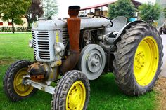 The #plowing festival 2013: history of #farm machines. #Landini #tractor