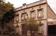Casa Prunes façade. Mexico