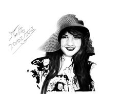 """Check out new work on my @Behance portfolio: """"friend digital portrait  photoshop and wacom"""" http://on.be.net/1Cc4N89"""