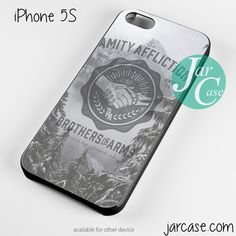 The Amity Affliction Brothers in Arms Phone case for iPhone 4/4s/5/5c/5s/6/6 plus