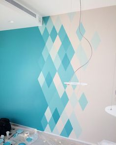 45 Creative Wall Paint Ideas and Designs — RenoGuide - Australian Renovation Ideas and Inspir. 45 Creative Wall Paint Ideas and Designs — RenoGuide - Australian Renovation Ideas and Inspiration Check more at arbeitsplatz. Creative Wall Painting, Room Wall Painting, Creative Walls, Room Paint, Wall Painting Design, Wall Paintings, Hallway Paint Design, Bedroom Wall Paints, Wall Painting Colors
