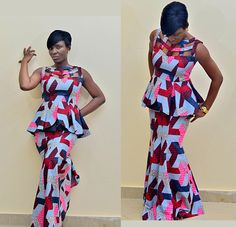 The Gbemisola African print dress, African maxi dress, Ankara maxi dress, african clothing, tribal prints, african skirt, prom dress by FashAfrique on Etsy https://www.etsy.com/listing/223385167/the-gbemisola-african-print-dress