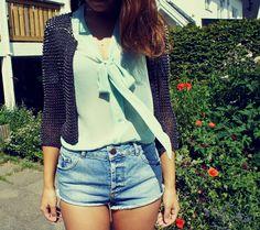 #Mint blouse